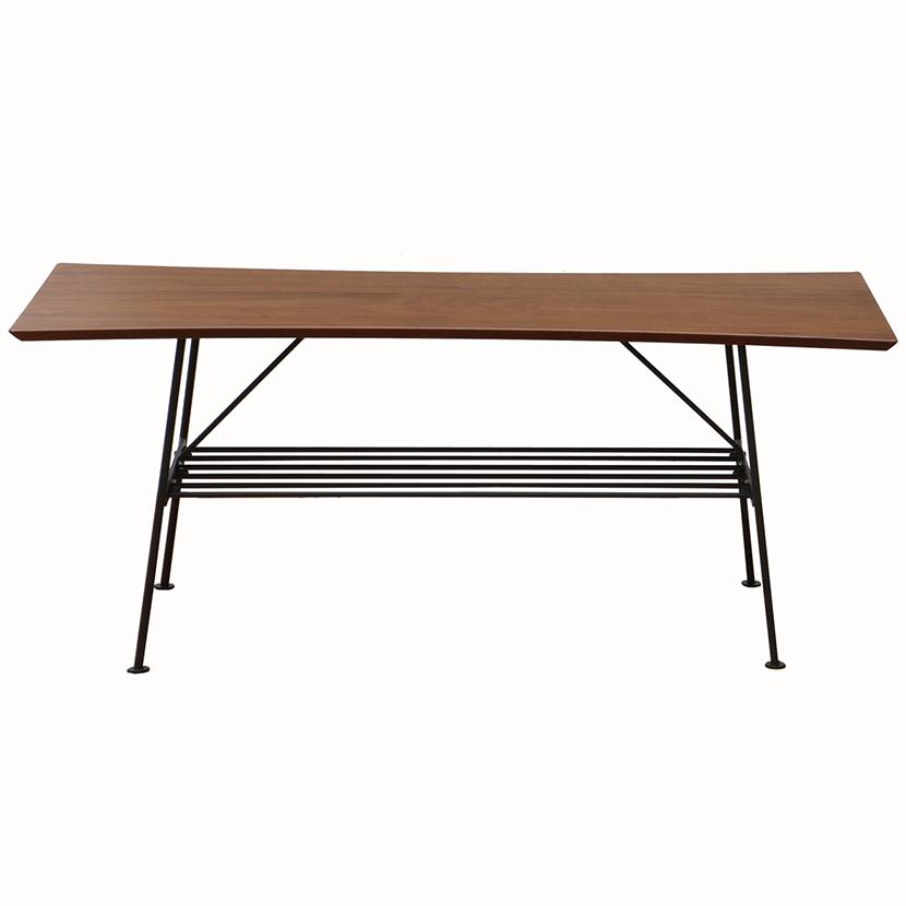 anthem(アンセム) センターテーブル 幅1000×奥行450×高さ410mm ナチュラル 木目 天然木 ホーム リビング ダイニング 収納