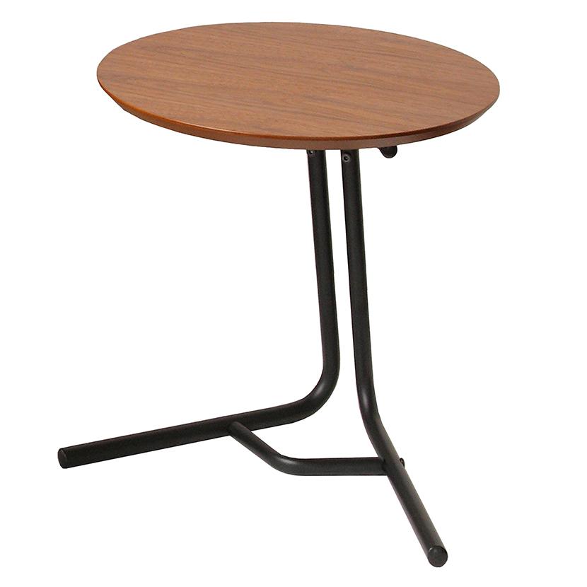 anthem(アンセム) 2wayサイドテーブル 幅410×奥行400×高さ380mm・580mm 高さ調節可能(2段階) ナチュラル 木目 天然木 ホーム リビング ダイニング