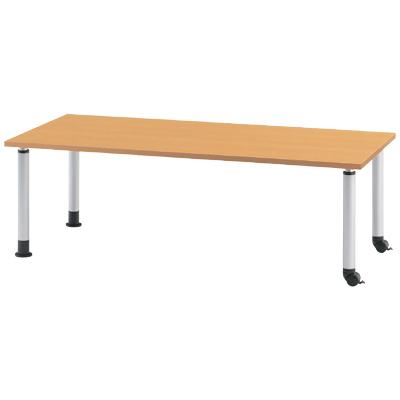 ダイニングテーブル/幅1500×奥750mm キャスタータイプ/MKT-1575C