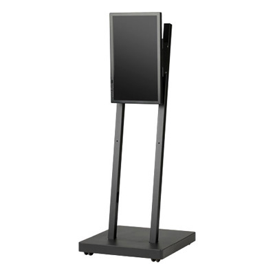 デジタルサイネージスタンド 22インチ用 ミニマムタイプ DSS-M22BW1 モニター台 モニタースタンド 液晶モニタースタンド ディスプレイスタンド テレビ台 テレビスタンド 液晶テレビ台 液晶テレビスタンド
