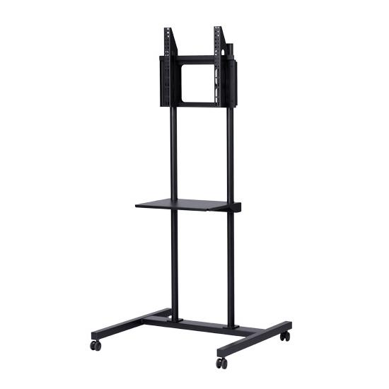 移動式テレビスタンド 倒れにくく簡単組立 32~55インチまで対応 TV高さ調整無段階
