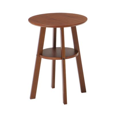 DIONE(ディオーネ) サイドテーブル 木製 円形 幅400×奥行400×高さ550mm ナチュラル シンプル ホーム 家具 リビング 書斎