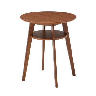 DIONE(ディオーネ) カフェテーブル 木製 幅600×奥行600×高さ690mm ナチュラル シンプル ホーム 家具 リビング 書斎