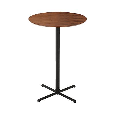 カウンターテーブル 木製 幅700×奥行700×高さ1000mm ナチュラル シンプル ホーム 家具 キッチン ダイニング バー