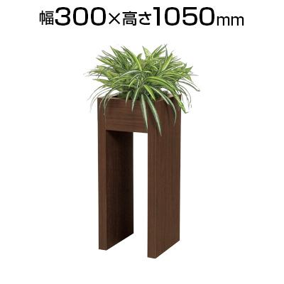 アグラオネマ・ブッシュ 幅300×高さ1050mm【ホワイト・ダーク】 L インテリアグリーンパーティション