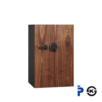 DBAUM/プレミアムセーフ プレミアム耐火金庫 TFL タッチスクリーン&指紋認証ロック/135kg/84L/DBAUM800【ディプロマット】