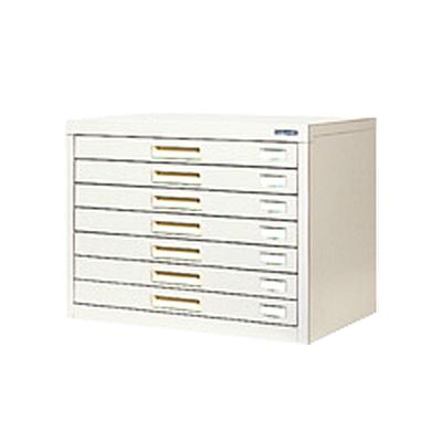 スチール製 ペーパーケース 書類整理ケース A3  7トレー