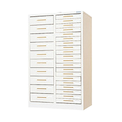 スチール製 ペーパーケース 書類整理ケース A4 30トレー