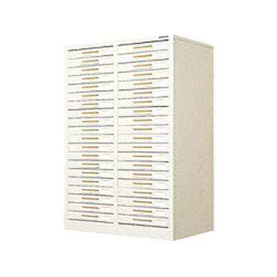 スチール製 ペーパーケース 書類整理ケース B4 40トレー