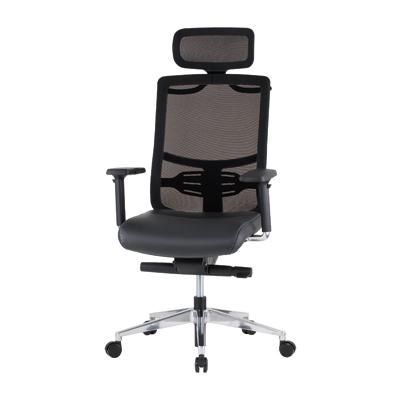 オフィスチェアー メッシュ デスクチェアー 高機能 ロッキング/IK-FMT-05Aチェアー パソコンチェアー PCチェアー 肘付 椅子 OAチェアー 事務椅子 昇降機能 ブラック 黒