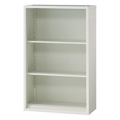 JL Storage オープン保管庫 下置用 幅700×奥行400×高さ1100mm 【ホワイト】/PL-JL-A110E-WH