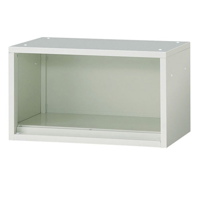 JL Storage オープン保管庫 上置用 幅700×奥行400×高さ400mm 【ホワイト】/PL-JL-A40E-WH
