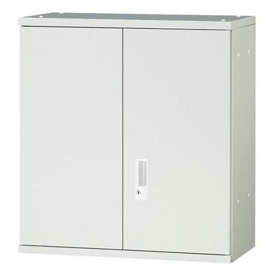 JL Storage 両開保管庫 上置用 鍵付き 幅700×奥行400×高さ750mm 【ホワイト】/PL-JL-A75A-WH