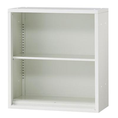 JL Storage オープン保管庫 上置用 幅700×奥行400×高さ750mm 【ホワイト】/PL-JL-A75E-WH