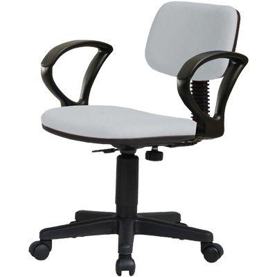オフィスチェア/肘付/K-926+92AR 【グレー・ブラック・ブルー】 事務椅子 オフィスチェアー 学習椅子 学習チェア 勉強椅子 パソコンチェアー デスクチェアー