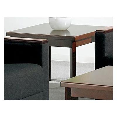 応接コーナーテーブル ブナ無垢材・突板 幅600×奥行600×高さ450mm 日本製 LI-T-671S