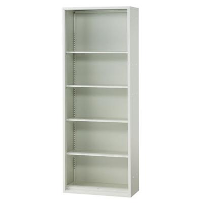 JL Storage オープン保管庫 下置用 幅700×奥行400×高さ1850mm 【ホワイト】/PL-JL-A185E-WH