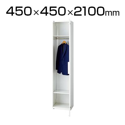 L6 ロッカー L6-210LC W4 ホワイト 幅450×奥行450×高さ2100mm