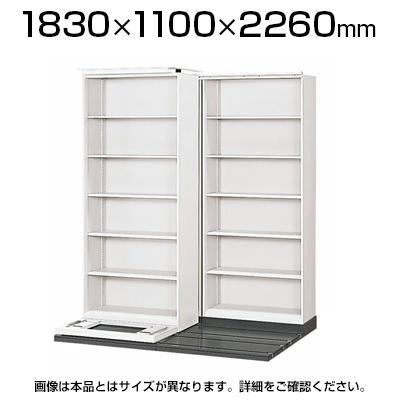 L6 横移動基本型 L6-333YH-K W4 ホワイト 幅1830×奥行1100×高さ2260mm