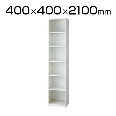 L6 オープン保管庫 L6-G210EC W4 ホワイト 幅400×奥行400×高さ2100mm