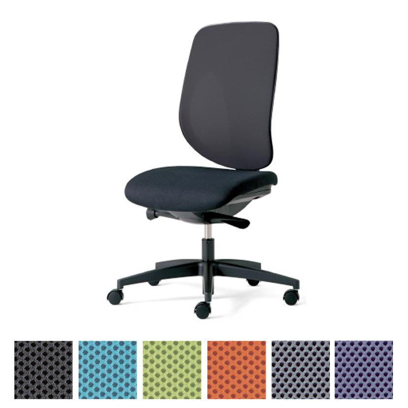 プラス PLUS ジロフレックス 353シリーズ ハンガーなし 肘なし 樹脂脚 幅674×奥行642mm 353-4029RSオフィスチェア メッシュ デスクチェア chair 椅子 ワークチェア 事務イス テレワーク チェア リモートワーク 在宅勤務 在宅ワーク SOHO