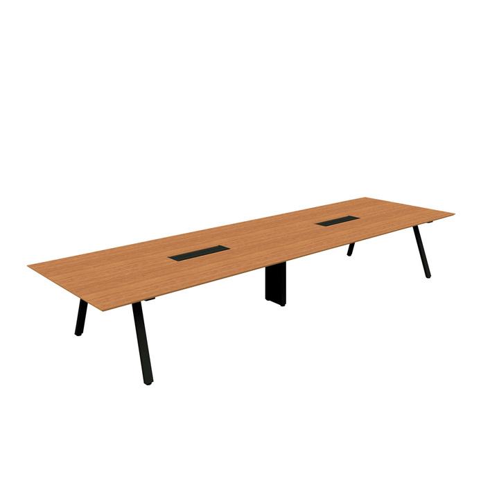 PLUS Genelaシリーズ カンファテーブル 幅3200×奥行1200×高さ720mm GE-3212C