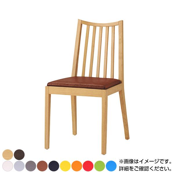 QUON(クオン) ライスイス PVC(プレザント) ダイニングチェア ラウンジチェア 木製ダイニング椅子 幅420×奥行510×高さ820mm