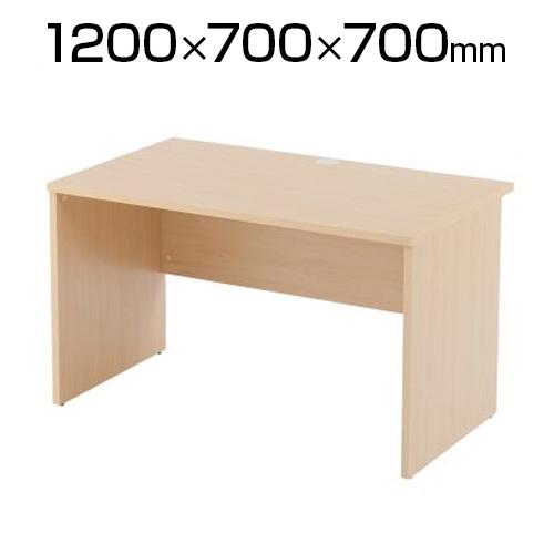 木製デスクIII 幅1200×奥行700mm ナチュラル RFLD-1270NJ3