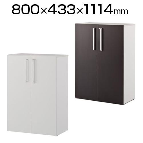 プリーマII 木製格子型シェルフ2列3段 共通扉付き グレーバック SHWKS2-23LD
