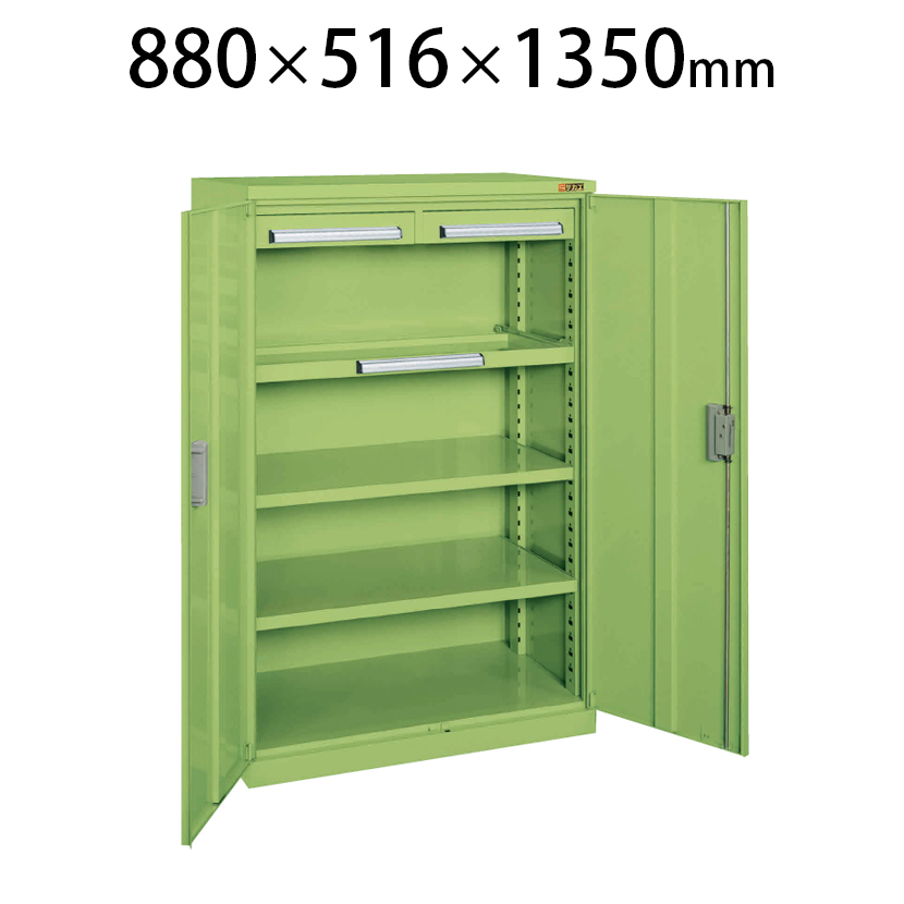 ミニ工具室 K-1001 幅880×奥行516×高さ1350mm 工具保管 最適