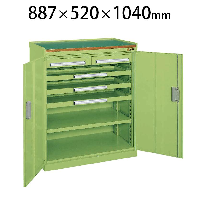 ミニ工具室 K-101 幅887×奥行520×高さ1040mm 工具保管 最適