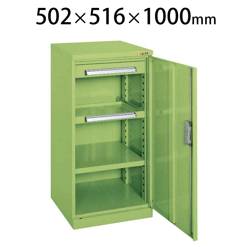 ミニ工具室 K-80N 幅502×奥行516×高さ1000mm 工具保管 最適