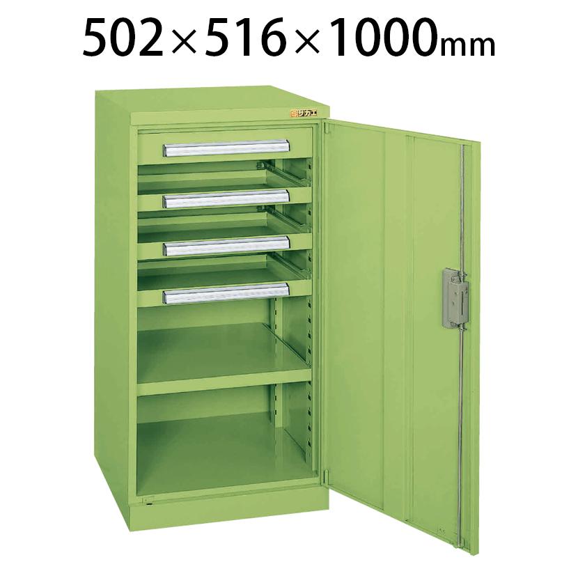 ミニ工具室 K-81N 幅502×奥行516×高さ1000mm 工具保管 最適