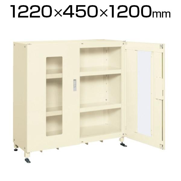 スーパージャンボ保管庫 SKS-124512MAI 幅1220×奥行450×高さ1200mm 長尺物 楽々収納