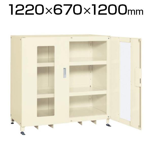 スーパージャンボ保管庫 SKS-126712MAI 幅1220×奥行670×高さ1200mm 長尺物 楽々収納