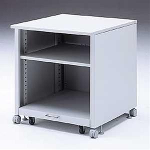 大型レーザープリンタの設置に最適なプリンタラック!3段 キャスター付き 総耐荷重:100kg レーザープリンタ用 インクジェット プリンター台 FAX プリンタ台 プリンタワゴン OAラック AVラック 複合機 OA機器 printer PRINTER 収納