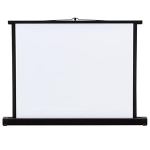 プロジェクタースクリーン(机上式) 30型!軽量で持ち運びも楽々♪プロジェクター用 スクリーン コンパクト 30インチ projector screen PROJECTOR SCREEN