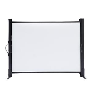 モバイルスクリーン 40型!プロジェクタースクリーン 折りたたみ式 机上式!プロジェクター用 スクリーン コンパクト 40インチ projector screen PROJECTOR SCREEN