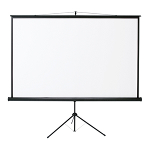 プロジェクタースクリーン(三脚式) 105型!三脚一体型で移動と設置が簡単♪プロジェクター用 スクリーン 105インチ projector screen PROJECTOR SCREEN