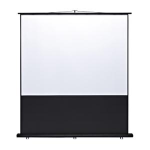 プロジェクタースクリーン(床置き式) 100型!置き型 プロジェクター用 スクリーン 100インチ projector screen PROJECTOR SCREEN