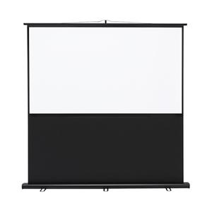 プロジェクタースクリーン(床置き式) ワイドタイプ 70型!置き型 プロジェクター用 スクリーン 70インチ projector screen PROJECTOR SCREEN