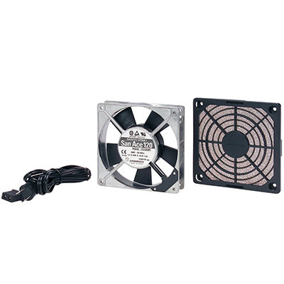 サンワサプライ 放熱ファン低速(静音)タイプ W120×D120×H25mm