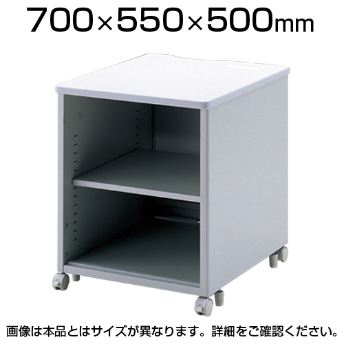 サンワサプライ eデスク(Pタイプ) W700×D550×H500mm