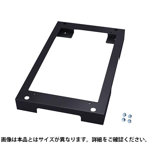 サンワサプライ チャンネルベース ブラック(奥行900用) W600×D900×H100mm