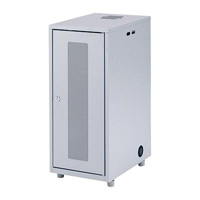 サンワサプライ NAS、HDD、ネットワーク機器収納ボックス W300×D420×H700mm