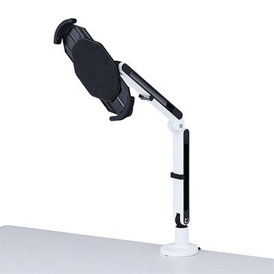 サンワサプライ 7~11インチ対応iPad・タブレット用アーム ランプ式・2本アーム SS-CR-LATAB9