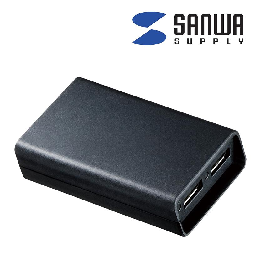 DisplayPortMSTハブ(DisplayPort×2)2台のDisplayPort搭載ディスプレイに接続