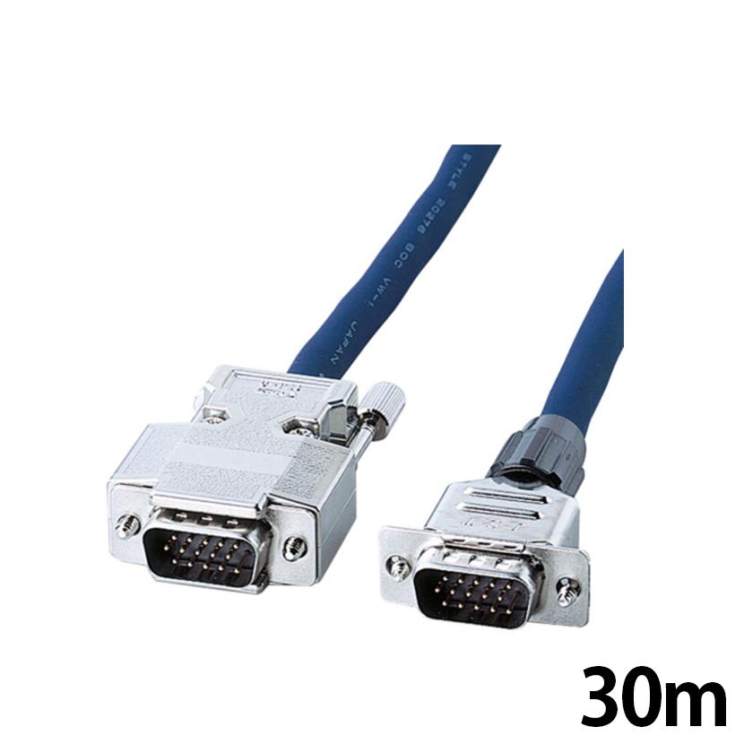 ディスプレイ 複合同軸ケーブル コア付き 30m