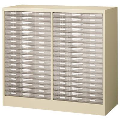 【完成品】【日本製】A3判書類整理ケース床置型 スチール製(プラスチック引出し)A3G-P218Sレターケース A3ファイル 文書棚 整理棚 書類収納 引き出し 引出し プラスチック オフィス収納 業務用 書類棚 書類ケース