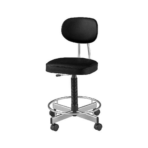 導電チェアー/肘無/TL-E17L 【ブラック・ダークブラウン】 事務椅子 オフィスチェアー 学習椅子 勉強椅子 パソコンチェアー デスクチェアー